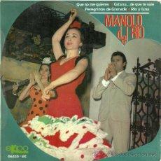 Discos de vinilo: MANOLO DEL RIO EP SELLO EKIPO AÑO 1966. Lote 27808315