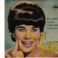 Discos de vinilo: GELU, LA VOZ DE SU AMO 1961, 45 RPM MICROSURCO . LA NOVIA , TO PSEMMA , EN PALMA DE MALLORCA, EL NO. Lote 28359086