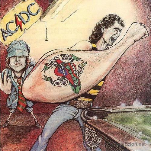 AC/DC - DIRTY DEEDS DONE DIRT CHEAP ( LP VINILO ) REEDICION (Música - Discos - LP Vinilo - Heavy - Metal)