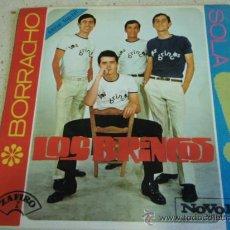 Discos de vinilo: LOS BRINCOS ( BORRACHO - SOLA ) ESPAÑA SINGLE45 NOVOLA. Lote 27820707