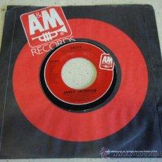 Discos de vinilo: JANET JACKSON ( NASTY - YOU'LL NEVER FIND ) 1982-USA SINGLE45 A&M RECORDS. Lote 27821621