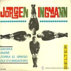Discos de vinilo: JORGEN INGMANN EP SELLO BELTER AÑO 1965. Lote 27824419