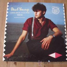 Discos de vinilo: 12 - PAUL YOUNG - COME BACK AND STAY - EXTENDED - 80´S. Lote 27825183