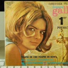 Discos de vinilo: FRANCE GALL. Lote 27831775