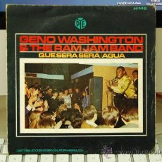 Discos de vinilo: GENO WAASHINGTON. Lote 30613083