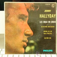 Discos de vinilo: JOHNNY HALLYDAY. Lote 27835110