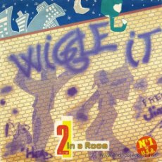Discos de vinilo: 2 IN A ROOM ··· WIGGLE IT (RADIO EDIT) / WIGGLE IT (CLUB EDIT) - (SINGLE 45RPM) ··· NUEVO. Lote 27842832