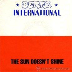 Discos de vinilo: BEATS INTERNATIONAL ··· THE SUN DOESN'T SHINE / WAKE THE DEAD - (SINGLE 45RPM) ··· NUEVO. Lote 27842926