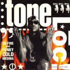 Dischi in vinile: TONE LOC ··· ON FIRE / FUNKY COLD MEDINA - (SINGLE 45RPM) ··· NUEVO. Lote 27843014