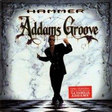 Discos de vinilo: MC HAMMER ··· ADDAMS GROOVE / ADDAMS GROOVE (INSTRUMENTAL) - (SINGLE 45RPM) ··· NUEVO. Lote 27843030