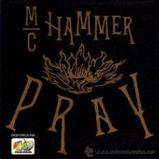 Discos de vinilo: MC HAMMER ··· PRAY - JAM THE HAMMER MIX - (SINGLE 45RPM) ··· EDICION ESPECIAL Y LIMITADA ··· NUEVO. Lote 27843072