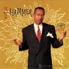 Discos de vinilo: MC HAMMER ··· PRAY / PRAY (INSTRUMENTAL) - (SINGLE 45 RPM) ··· NUEVO. Lote 27843089