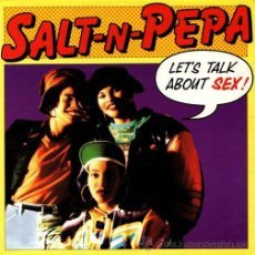 Dischi in vinile: SALT-N-PEPA ··· LET'S TALK ABOUT SEX (TRUE CONFESSIONS EDIT) / LET'S... - (SINGLE 45 RPM) ··· NUEVO. Lote 27843119