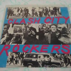 Discos de vinilo: THE CLASH ( CLASH CITY ROCKERS - JAIL GUITAR DOORS ) 1978-HOLANDA SINGLE45 CBS. Lote 27859218