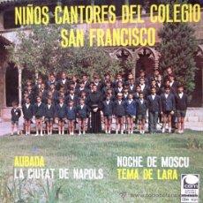 Discos de vinilo: NIÑOS CANTORES DEL COLEGIO SAN FRANCISCO DE PALMA DE MALLORCA - 1969. Lote 27860190