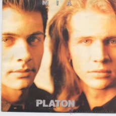 Disques de vinyle: PLATON,MIA DEL 92 PROMO DE 1 SOLA CARA. Lote 27863181