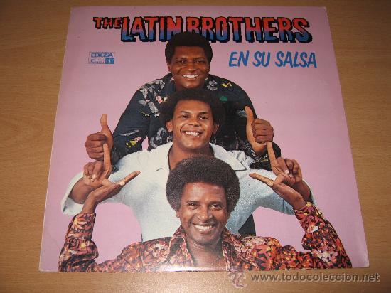 lp the latin brothers en su salsa edigsa spain