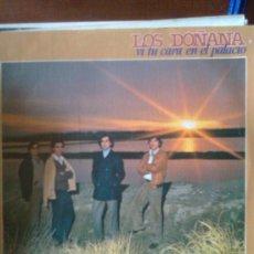 Discos de vinilo: LOS DOÑANA - VI TU CARA EN PALACIO (MOVIEPLAY,1981).TIPO BRUMAS,CANTORES DE HISPALIS,MARISMEÑOS... Lote 27872412