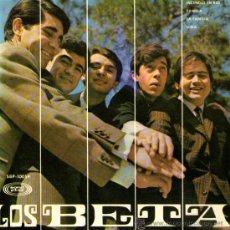 """Discos de vinilo: LOS BETA - EP-SINGLE VINILO 7"""" - EDITADO EN ESPAÑA - INCENDIO EN RIO + 3 - SONOPLAY 1967. Lote 27884229"""
