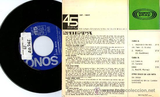 Discos de vinilo: CONTRAPORTADA - Foto 2 - 27884229