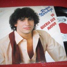 """Discos de vinilo: ROQUE NARVAJA UN AMIGO DE VERDAD/YO QUERIA SER MAYOR 7"""" SINGLE 1981 MOVIEPLAY PROMO. Lote 27889912"""