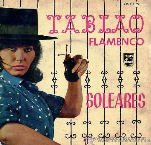 TABLAO FLAMENCO - JARRITO, SERNITA, TERREMOTO Y JACINTO ALMADÉN - 1962 (Música - Discos de Vinilo - EPs - Flamenco, Canción española y Cuplé)