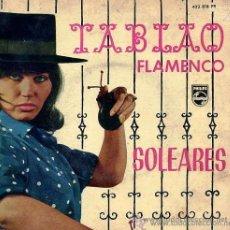 Discos de vinilo: TABLAO FLAMENCO - JARRITO, SERNITA, TERREMOTO Y JACINTO ALMADÉN - 1962. Lote 207891896