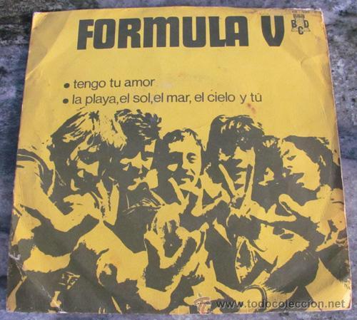 FORMULA V - TENGO TU AMOR - SINGLE PROMO 1970 (Música - Discos - Singles Vinilo - Grupos Españoles de los 70 y 80)
