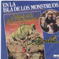 Discos de vinilo: REGALIZ_EN LA ISLA DE LOS MONSTRUOS/RATON VAQUERO_7