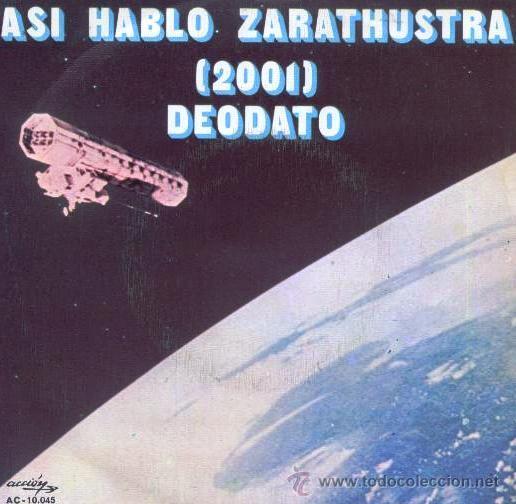 ASI HABLÓ ZARATHUSTRA 2001 - EUMIR DEODATO - 1973 (Música - Discos - Singles Vinilo - Bandas Sonoras y Actores)