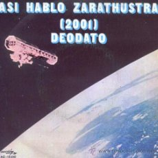 Discos de vinilo: ASI HABLÓ ZARATHUSTRA 2001 - EUMIR DEODATO - 1973. Lote 27905543