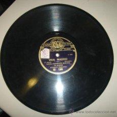 """Discos de vinilo: DISCO DE GRAMOFONO DE BANDA REGIMIENTO WAD-RAS DE MADRID CON LAS CANCIONES """"VERNIA"""" Y """"VIVA MADRID"""". Lote 27929767"""