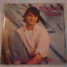 Discos de vinilo: MIGUEL BOSE CANTA EN ITALIANO ( OLYMPIC GAMES - TI AMERO' ) 1980-MILANO SINGLE45 CBS. Lote 27937548