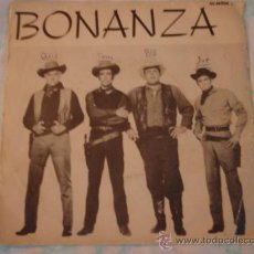 Discos de vinilo: ' BONANZA ' + ' THEME FROM BITTERFIELD 8 ' DAVID ROSE AND HIS ORCHESTRA SINGLE45 SWEDEN MGM. Lote 27937588
