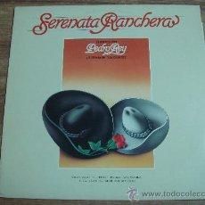 Discos de vinilo: SERENATA RANCHERA.-15 EXITOS CON PEDRO REY Y EL MARIACHI LOS GALLEROS.-EDITA EDIGSA.-AÑO 1982.-. Lote 261912525