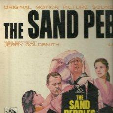Discos de vinilo: BANDA SONORA ORIGINAL DEL FILM THE SAND PEBBLES LP SELLO 20 CENTURY FOX EDITADO EN USA.. Lote 27938099