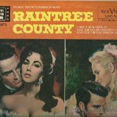 Discos de vinilo: BANDA SONORA ORIGINAL DEL FILM RAINTREE COUNTY LP SELLO RCA VICTOR EDITADO EN USA... Lote 27938169