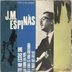 Discos de vinilo: ESPINAS. CANTA LES SEVES CANÇONS II. EDIGSA 1962. EP. Lote 27940995