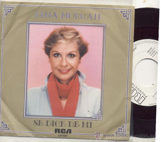 SINGLE PROMO 45 RPM / LINA MORGAN / LA RUMBA DEL X 2 // EDITADO POR RCA (Música - Discos - Singles Vinilo - Bandas Sonoras y Actores)