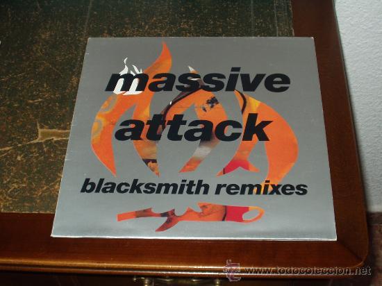 MASSIVE ATTACK MAXI EP BLACKSMITH REMIXES (Música - Discos de Vinilo - EPs - Rap / Hip Hop)