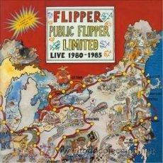Discos de vinilo: 2LP FLIPPER PUBLIC FLIPPER LIMITED VINILOS 180 G PUNK. Lote 128005115