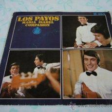 Discos de vinilo: LOS PAYOS ( MARIA ISABEL - COMPASION ) 1969 - ESPAÑA SINGLE45 HISPAVOX. Lote 27949485