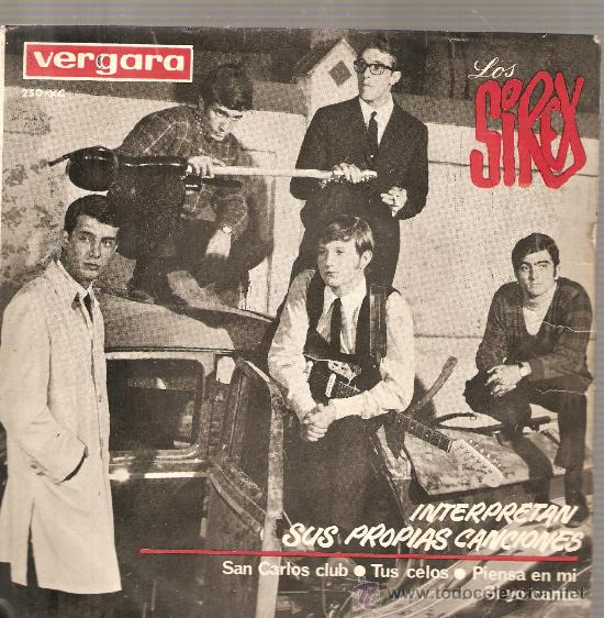 EP LOS SIREX : SAN CARLOS CLUB (Música - Discos de Vinilo - EPs - Grupos Españoles 50 y 60)
