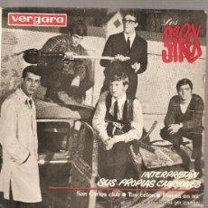 Discos de vinilo: EP LOS SIREX : SAN CARLOS CLUB . Lote 27961465