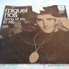 Discos de vinilo: MIGUEL RIOS ( EL RIO - SONG OF JOY ) 1970 SINGLE45 A&M RECORDS. Lote 27971762