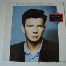 Discos de vinilo: RICK ASTLEY HOLD ME IN YOUR ARMS LP . Lote 27972879