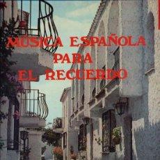 Discos de vinilo: MUSICA ESPAÑOLA PARA EL RECUERDO - CAJA CON 3 LPS EDITADA POR EMI EN 1982). Lote 27973492