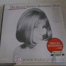 Discos de vinilo: THE SECOND BARBRA STREISAND ALBUM - LP CBS 32022 - ESPAÑA 1985. Lote 27975820
