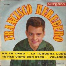 Discos de vinilo: EP-FRANCISCO HEREDERO-VERGARA 350073-. Lote 27979028