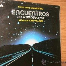 Discos de vinilo: ENCUENTROS EN LA TERCERA FASE. JOHN WILLIAMS. Lote 28772272